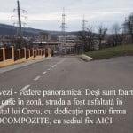 Ce străzi a mai VRĂJIT Ovidiu Crețu! Vezi interesele din spatele unor asfaltări din zonele cu VILE
