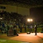 """VIDEO: Gabriel Cotabiță aplaudat la scenă deschisă la """"femeia europeană""""… un spectacol cu scop precis! La pariu că Doris candidează la Parlamentare?"""