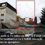 """Urbanism à la Crețu: """"dacă are bani și vrea să investească, NU putem spune NU!""""  Bloc nou în zonă sufocată în Ștefan cel Mare, cu GRAVE abateri urbanistice!"""
