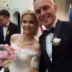 Ei sunt mirii anului! Marius Rus și Alexandra Saltan s-au căsătorit!