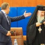 """Radu Moldovan a adus un sobor de preoți în frunte cu """"Înaltul"""" să binecuvânteze START-ul din acest mandat! Șampanie la final, ca de obicei!"""