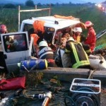 """Grav accident """"pe Podirei""""! O dubiță a derapat și a izbit un cap de pod: 2 oameni au murit!"""