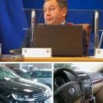 Confort sporit la locul de muncă: Radu Moldovan își cumpără SUV de LUX cu 100.000 de euro! Touareg-ul de serviciu NU mai e bun?