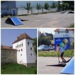 Primăria Bistrița dă înainte cu tupeu! Face proiectarea pentru un skate-park la Turnul Dogarilor!