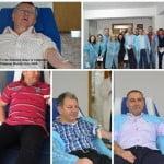 Nu știu ce să mai facă pentru imaginea de buni-samariteni! Radu Moldovan și brigada P.S.D au donat sânge! Musai-musai s-au tras în poză!