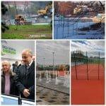 Vai și-amar! De un an jumate Ștrandul Codrișor e cam în aceeași fază! De 3 zile, la Cluj, Emil Boc a inaugurat un complex sportiv de 4.5 milioane de euro. Șantierele au început deodată!