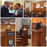 VIDEO: Deputații de Bistrița au JURAT pe Biblie, în Parlamentul României! Vreme de 4 ani și ei vor face legile în Țara Românească!