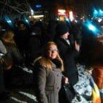 """Cristina Iurișniți a ieșit în stradă, alături de 3.000 de tineri! A scandat împotriva """"legii penalilor""""!"""