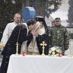 VIDEO: Preot nou la Garnizoana Bistrița! Părintele Cristian Marțian a fost instalat oficial!