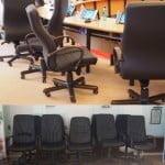 Investiție pentru… șezut! Primăria a cumpărat fotolii de piele pentru sala de ședințe, cu 200 de euro/bucata! Alea vechi DE CE NU mai sunt bune?