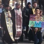 """De Buna Vestire, vino alături de preoți și credincioși la """"Marșul pentru VIAȚĂ!"""" Traseu: de la Biserica de la Coroana până la Biserica """"Sfânta Ana"""" (de la Big, ora 16.00)"""