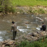 Atenție pescari: prohibiție până în 30 mai! Excepție, de la 1 mai se poate da la păstrăv, însă NUMAI cu momeală artificială!