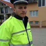 """A salvat viața unei femei care căzuse în apă! Andrei Moldovan un viitor polițist, de pus la gazetă la rubrica: """"așa DA!"""""""