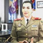 INTERVIU cu Andreea Ciurea – comandant companie la Brigada 81 Mecanizată! S-a îndrăgostit de ținuta militară în copilărie, când a văzut FANFARA din Parcul Municipal! La 30 de ani e OFIȚER și comandant peste 100 de BĂRBAȚI!