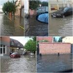 O ploaie scurtă a inundat Bistrița! De-acum 3 ani, primarul Crețu a promis canalizare pe Valea Budacului, dar investiția s-a ANULAT, după 2 săptămâni de la postarea anunțului! În Piața Mică, se INUNDĂ de când s-a terminat reabilitarea din bani europeni!
