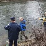 Controale pe Șieu! AJVPS-ul și jandarmii, la AGĂȚAT de braconieri și de pescari fără permis!