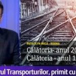 VIDEO: Iarăși ne facem de mândra minune, la o zi de la inaugurarea cu fast! Trenul de la Ilva Mică la Rodna merge cu 28 de kilometri pe oră și e mai LENT ca acum 78 de ani! Ne-a dat pe Digi 24 să ne vadă România!