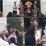 VIDEO: În ultima zi de Post, credincioșii Bisericii de pe Odobescu au cântat Prohodul Maicii Domnului! La final s-a înconjurat biserica!