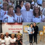 Femeile din PSD se specializează, la Școala de Partid de la Mamaia! Cu-această ocazie, artistul Fuego și-a prezentat picturile!
