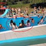 De ce să NU calci la Ștrandul Codrișor: mai multe țigănci au intrat îmbrăcate în bazinul unde se aflau și copii. S-a încins facebook-ul și deja apar nereguli: se desprinde tencuiala de pe bazine, e plin de noroi… etc