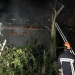 FOTO: Un bărbat și-a pierdut viața într-un incendiu izbucnit în localitatea Cireșoaia