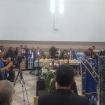 FOTO: ÎPS Andrei Andreicuț, la slujba de înmormântare a bărbatului care a decedat strivit de un copac în Parcul Municipal