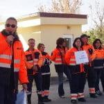 FOTO/VIDEO: Salvatorii vor salarii! Angajații de la Ambulanța Bistrița-Năsăud, la mitingul de sensibilizare a Guvernului