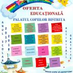 Palatul Copiilor Bistrița vine cu alternative pentru petrecerea timpului liber! Oferta educațională este generoasă!