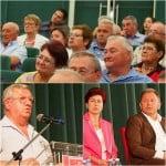 """Radu Moldovan și-a arătat MUȘCHII: PSD-iștii din sală au votat la comandă o propunere fictivă de accesare a unui împrumut pentru modernizarea străzilor din municipiu, la pachet cu bani din bancă pentru Aqualand! Ovidiu Crețu s-a ofticat și i-a tras-o în DIRECT: """"Așa a făcut Vasile Moldovan în anul în care a pierdut alegerile!"""""""