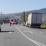 Grav accident de circulație în Sărățel, cu 4 persoane implicate! O persoană a decedat!