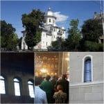 Un tânăr ANONIM a donat 5.000 de euro pentru Biserica de pe Odobescu! Din banii de milostenie s-au montat geamuri noi și tâmplărie din lemn-stratificat!