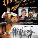 Râuri de bere, cârnaţi bavarezi, plăcinte şi strudel, concursuri, jocuri, muzică și dansuri. Toate acestea, la Festivalul Oktober Show