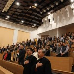 FOTO: Început de an universitar la Extensia Bistrița a Universității Babeș-Bolyai din Cluj-Napoca