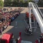 FOTO: Pompierii bistrițeni, alături de elevii din unitățile de învățământ