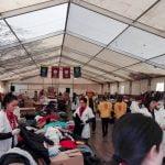 Târgul de purici, o nouă ediție de succes! În prima zi, sute de bistrițeni l-au vizitat și au cumpărat produse, susținând astfel proiectele umanitare ale Clubului Lions