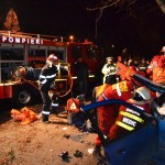 Un tânăr a murit și alte trei persoane au fost rănite într-un grav accident petrecut pe DN 17