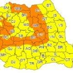 Cod galben și portocaliu de vânt, lapoviță și ninsoare în Bistrița-Năsăud! De când intră în vigoare avertizarea meteorologilor?