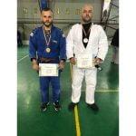 FOTO: Doi polițiști bistrițeni au fost medaliați cu argint și bronz la Campionatului de Judo al Ministerului Afacerilor Interne