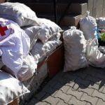 FOTO: Oameni cu suflet mare! Localnicii din Dumitra au donat alimente pentru nevoiașii din Bistrița