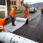 FOTO: Se lucrează intens la modernizarea DN 17 D de la Năsăud la Feldru
