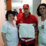 FOTO: Cearșafuri noi pentru bebelușii din Spitalul Județean de Urgență Bistrița
