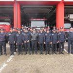 FOTO: Viitori pompieri, în practică la Inspectoratul pentru Situații de Urgență Bistrița-Năsăud