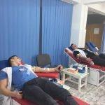 FOTO: Elevii de la Colegiul InfoEl donează sânge, campania având un dublu scop umanitar