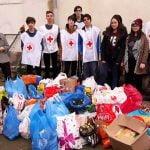 """FOTO: Elevii Colegiului Național """"Liviu Rebreanu""""s-au implicat într-o acțiune umanitară! Sute de kilograme de alimente, colectate și direcționate către nevoiași"""