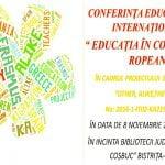 """Conferința Internațională """"Educația în context european"""""""