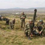 FOTO: Vezi imagini de la antrenamenul militarilor Batalionului 812 Infanterie din Bistrița în poligonul Dorolea