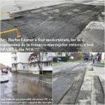 Numai la noi se poate! Cu 10.000 de euro, Primăria Bistrița a asfaltat o stradă, iar la o săptămână o SPARG și o cârpesc!
