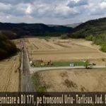 VIDEO: Cum arăta DJ 171 de la Uriu la Tîrlișua înainte de reabilitare și cum arată după modernizare?