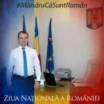 Mesajul prefectului județului Bistrița-Năsăud, Ovidiu Frenț, de 1 Decembrie – Ziua Națională a României