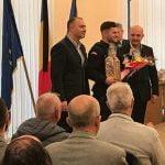 FOTO: Plt. Alexandru Sucutărdean – printre primii 10 cei mai buni sportivi ai judeţului Bistriţa-Năsăud